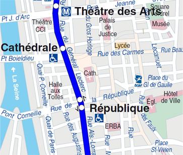 Plan Halle aux Toiles